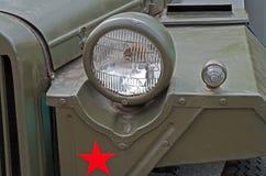 Frontowe optyka samochodowe Zdjęcia Royalty Free