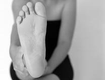 Frontowej stopy kobieta Zdjęcie Stock