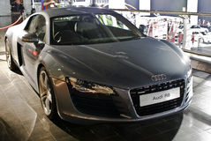 frontowy audi mph r8 obrazy stock