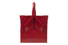 frontowy czerwony toolbox Obrazy Stock