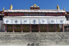 frontowy drepung monaster Zdjęcie Royalty Free