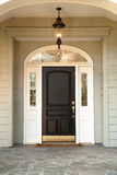 frontowy drzwi dom Zdjęcie Stock