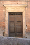 frontowy drzwi włoch Zdjęcia Stock