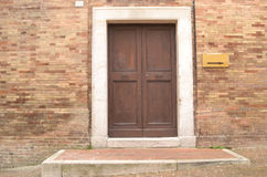 frontowy drzwi włoch Obrazy Royalty Free