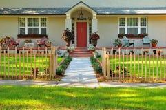 frontowy entryway dom Zdjęcie Royalty Free