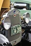 Frontowy grille stary samochód Obrazy Royalty Free