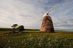 frontowy halnaker widok wiatraczek Zdjęcie Stock