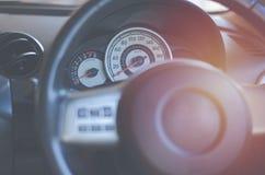 Frontowy konsola samochodu ekran, pojazd, technologia, głos, system, au Obraz Royalty Free