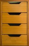Frontowy kreślarz drewnianej ramy gabinetowy drzwi, tło Zdjęcie Stock