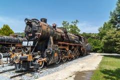 frontowy lokomotoryczny stary taborowy wive Zdjęcie Stock