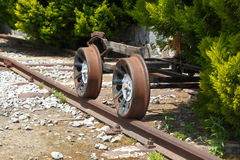 frontowy lokomotoryczny stary taborowy wive Obrazy Royalty Free