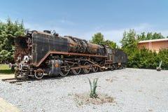 frontowy lokomotoryczny stary taborowy wive Fotografia Royalty Free