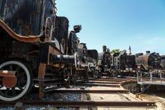 frontowy lokomotoryczny stary taborowy wive Obraz Royalty Free