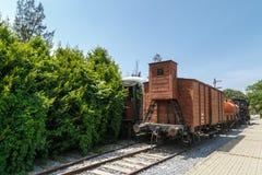 frontowy lokomotoryczny stary taborowy wive Fotografia Stock