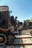frontowy lokomotoryczny stary taborowy wive Zdjęcie Royalty Free