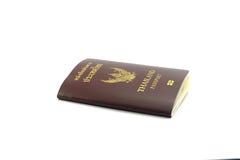 Frontowy Paszportowy Biały tło Zdjęcie Royalty Free