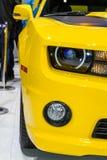 Frontowy reflektoru i wskaźnika szczegół na korwecie Zdjęcie Royalty Free