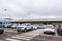 Frontowy widok Aeroporto Internacional De Campo Grande Fotografia Royalty Free