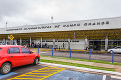 Frontowy widok Aeroporto Internacional De Campo Grande Zdjęcie Royalty Free