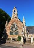 Frontowy widok Alloway Farny kościół, Alloway Zdjęcie Royalty Free
