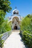 Frontowy widok baby Vanga kościół w Rupite Obrazy Royalty Free