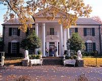 Frontowy widok Graceland, Memphis obraz stock
