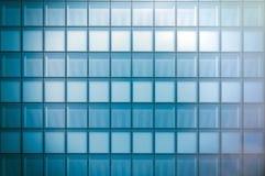 Frontowy widok nowożytna drapacz chmur dzielnica biznesu w zmierzchu świetle Błękitna drapacz chmur fasada, budynki biurowi nowoż Zdjęcia Royalty Free