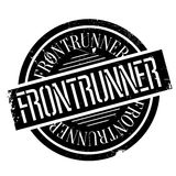 Frontrunner rubber stamp Stock Image