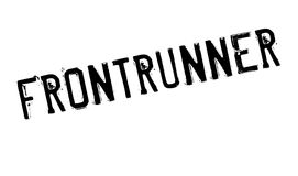 Frontrunner rubber stamp Royalty Free Stock Photography