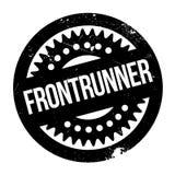 Frontrunner rubber stamp Stock Photo