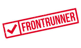 Frontrunner rubber stamp Royalty Free Stock Photos