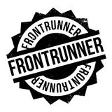 Frontrunner rubber stamp Royalty Free Stock Images