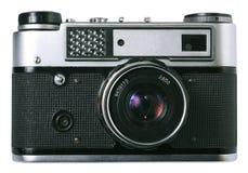 Frontseite der alten Fotokamera Lizenzfreie Stockfotografie