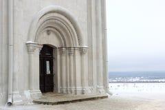 Frontseite der Dormition Kathedrale Stockbilder