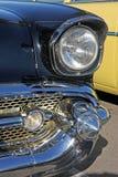 Frontseite des antiken Autos stockfoto