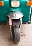 Frontseite des Dreirads. Lizenzfreies Stockbild
