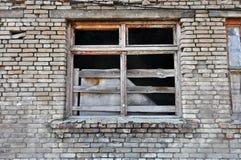 Frontseite des verlassenen Gebäudes Lizenzfreie Stockfotos
