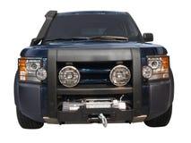 Frontseite von 4x4 SUV Lizenzfreies Stockfoto