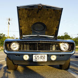 Frontseite von 69 Camaro Lizenzfreie Stockfotos
