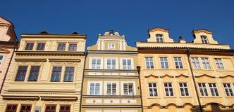 Frontseiten von Praga Stockfotografie