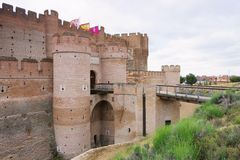 Castillo de la Mota Royalty Free Stock Images