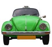 Frontside de un taxi del escarabajo de VW Fotos de archivo
