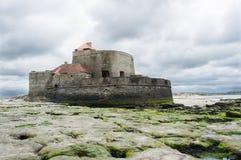 Frontside Mahon Ambleteuse форта стоковое фото rf