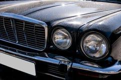 Frontside van een retro auto Stock Foto