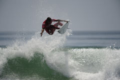 Frontsidelucht van Surfer Stock Fotografie