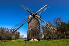 Frontview ветрянки, Эстонии стоковая фотография rf