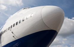 Aircraft nose Royalty Free Stock Images