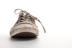 Frontview de chaussure de tennis Photographie stock