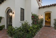 Frontyard Of Modern House Stock Photography