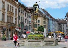 Fronwagplatz - Schaffhausen Imagen de archivo